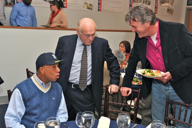Meeting with hip-hop billionaire Russell Simmons, September 2010